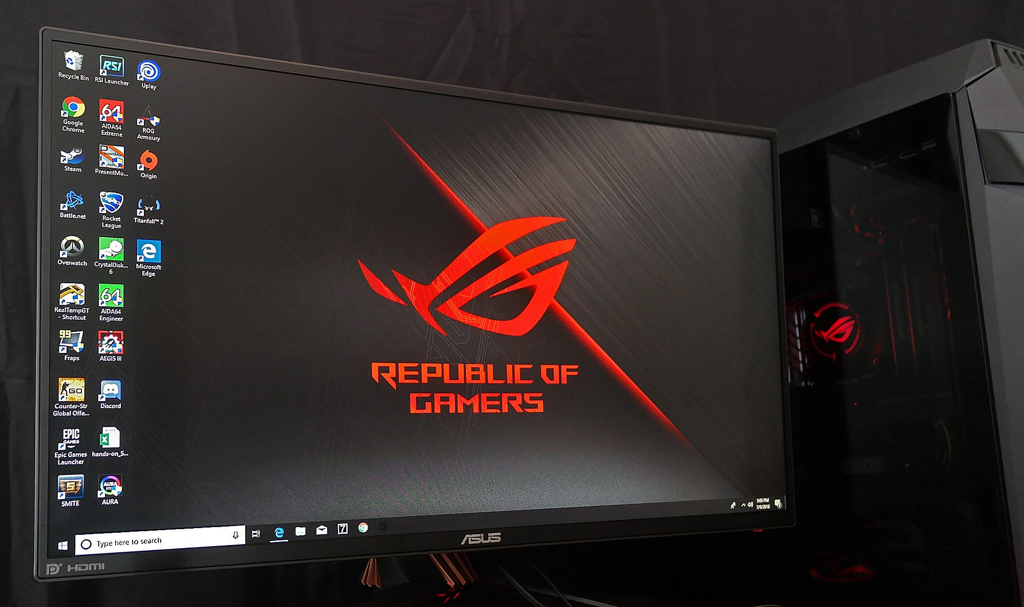 The ROG Swift PG258Q 240Hz gaming monitor raises the bar for
