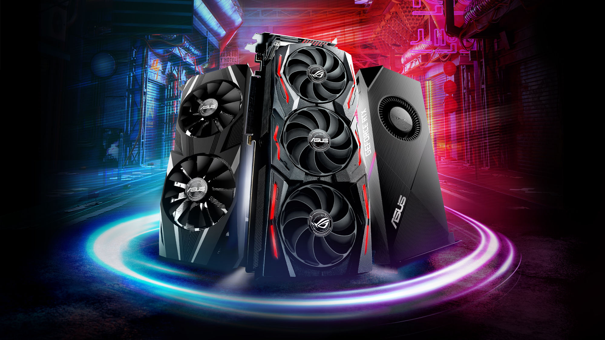 Here come the ROG and ASUS GeForce RTX 2070 graphics cards | ROG