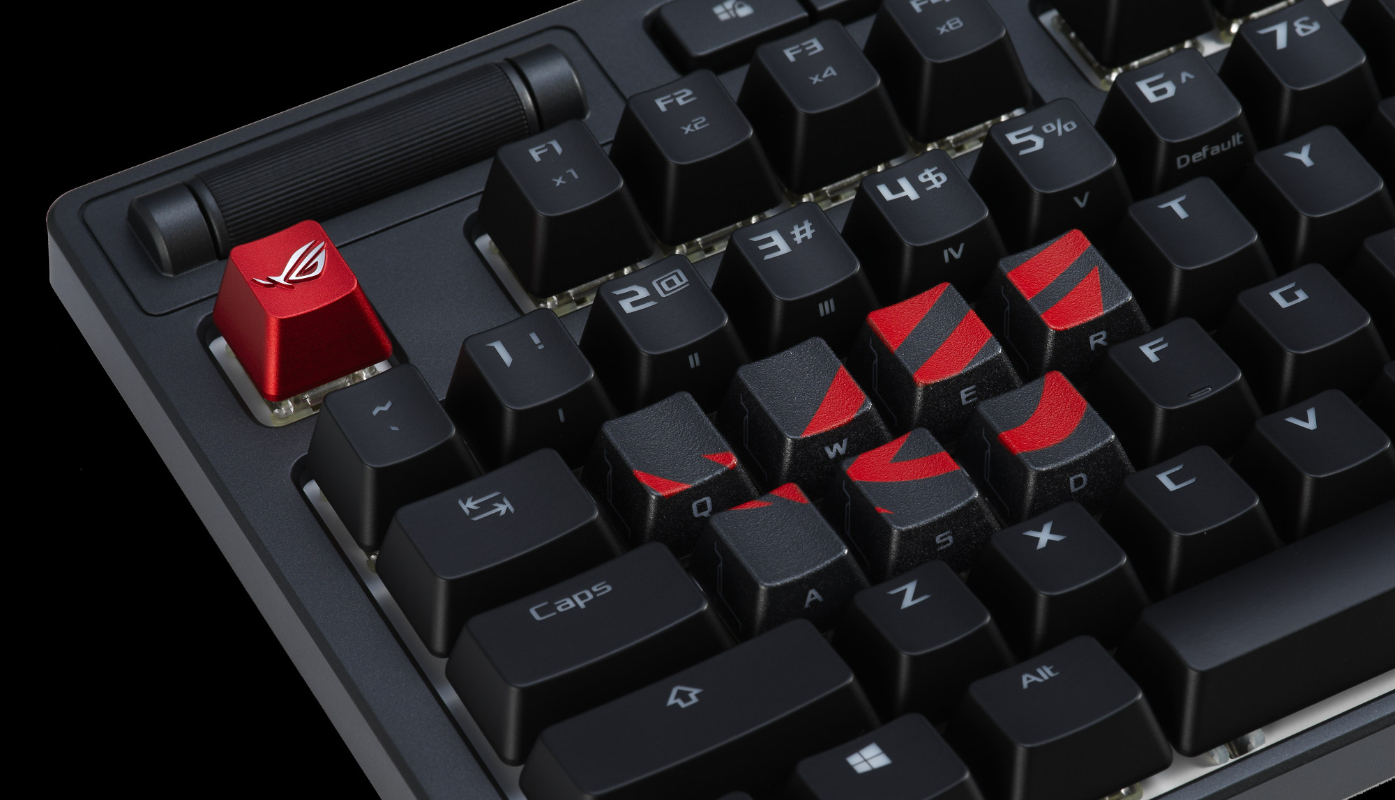 The ROG keycap kit is designed for diehard members of the Republic