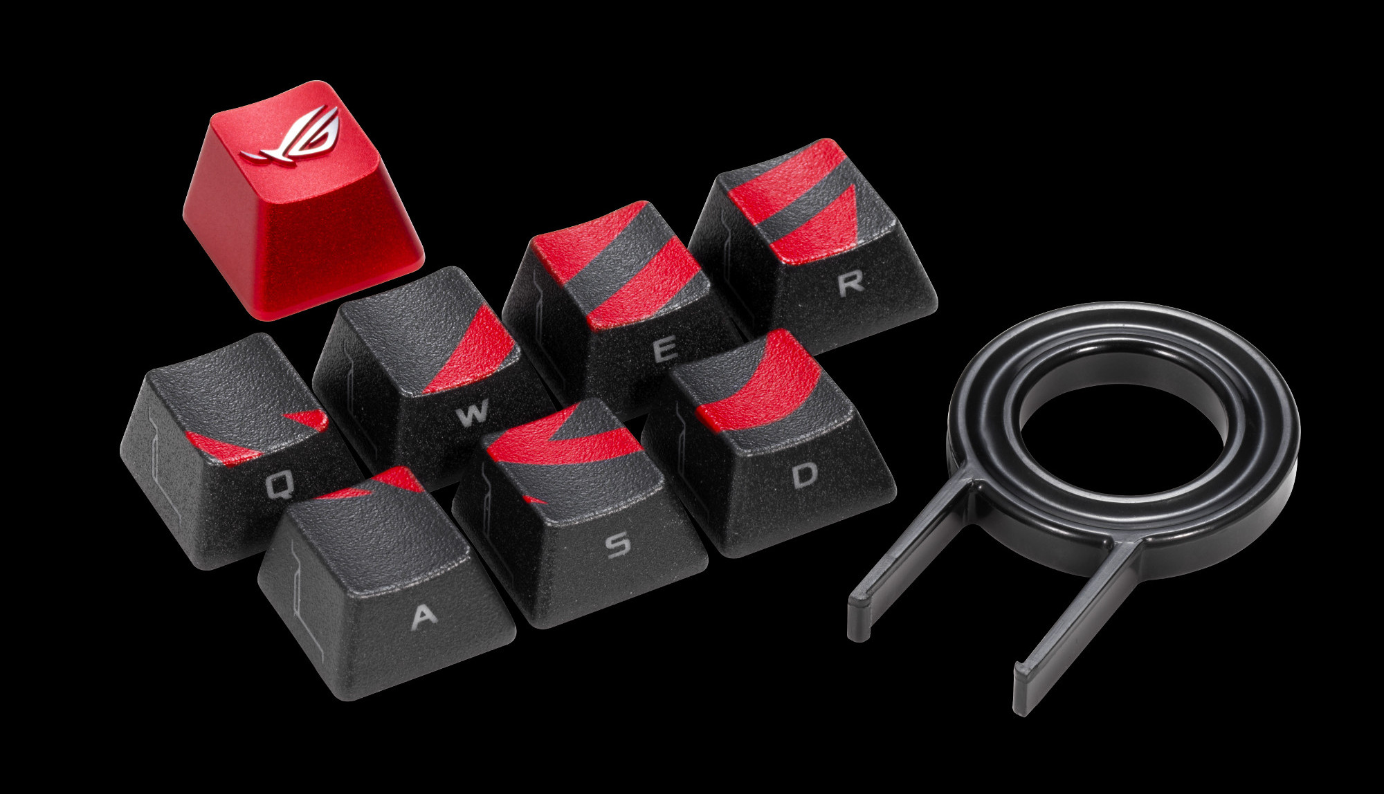 The ROG keycap kit is designed for diehard members of the Republic | ROG - Republic of Gamers Global