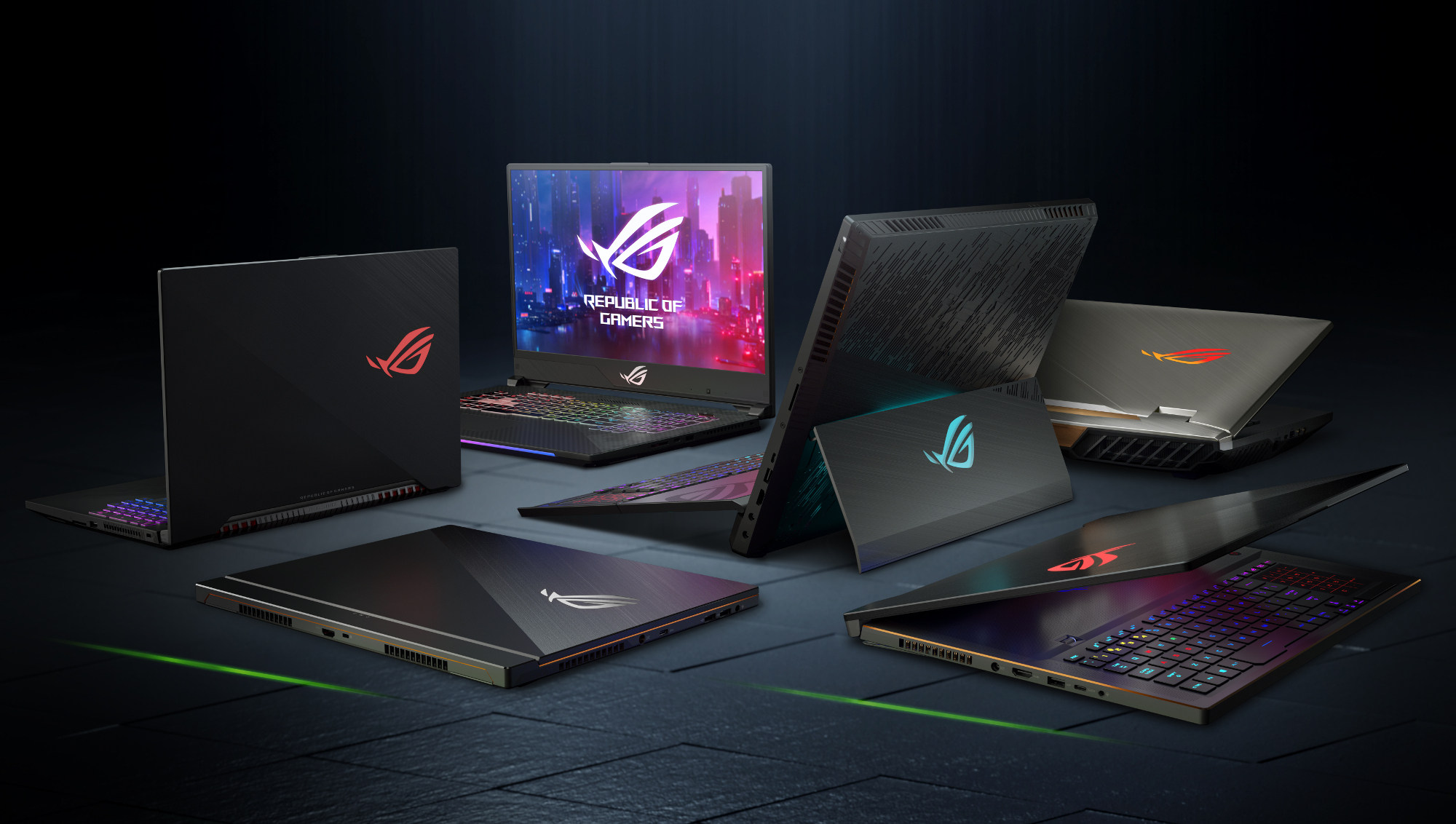 ROG's GeForce RTX gaming laptop guide: meet the latest generation of