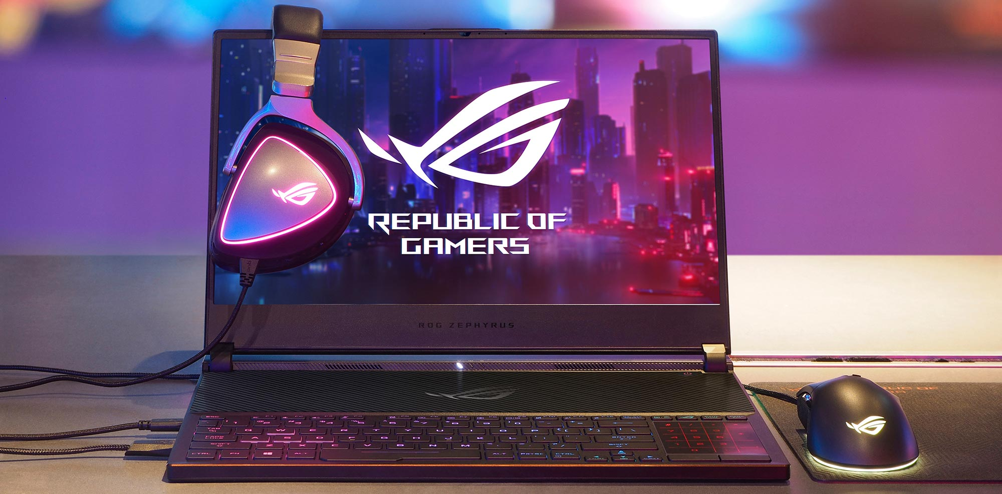 HDR, 240Hz, and 4K panels reinforce ROG's leadership with