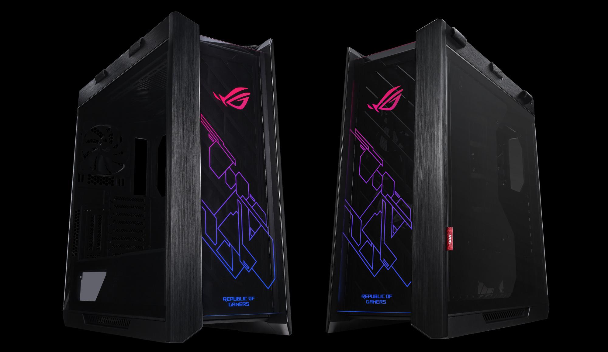ASUS lanza su primer chasis ROG Strix Helios para PCs 'Gaming'  Más información en: https://www.profesionalreview.com/2019/04/12/asus-rog-strix-helios-pcs/