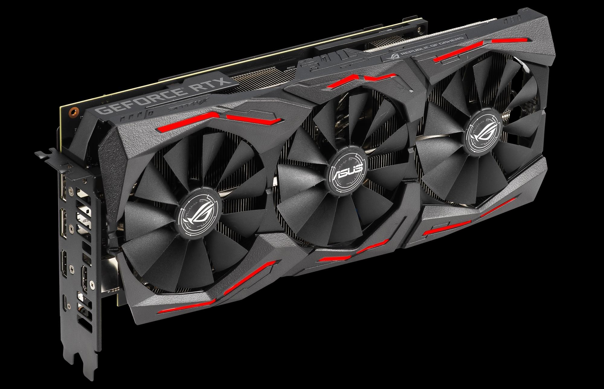 ROG-STRIX-RTX2060S-A8G-EVO-GAMING ASUS ROG Strix GeForce RTX 2060 Super Advanced Overclocked EVO 8G GDDR6 HDMI DisplayPort USB Type-C Gaming Graphics Card