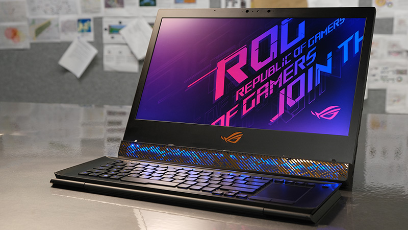 The ROG Mothership's otherworldly fusion of power and portability boosted my work and play