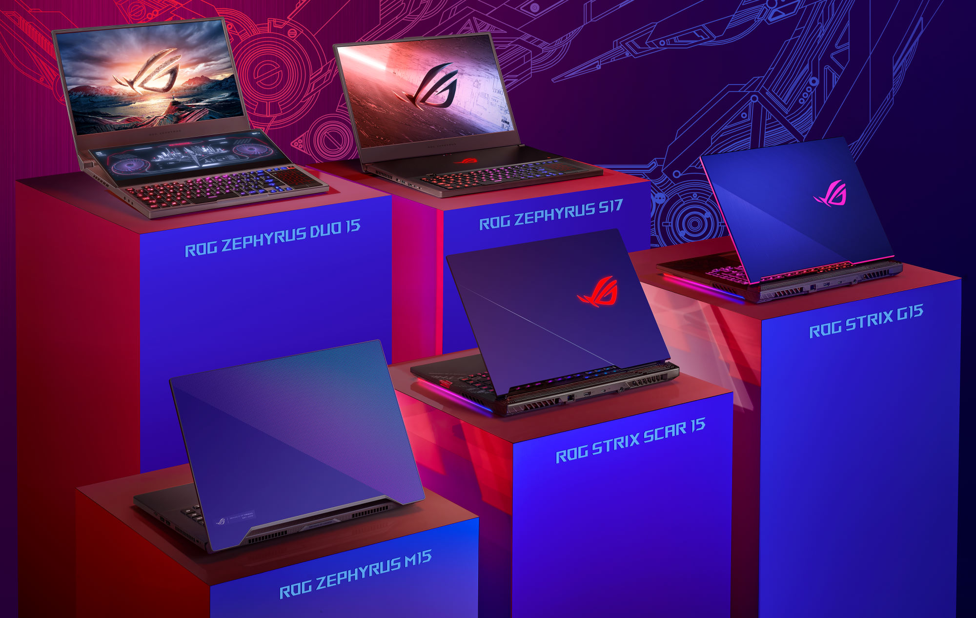 Spring 2020 Gaming Laptop Guide Rog Gets Cooler Than Ever With Liquid Metal And A Second Screen Rog Republic Of Gamers Global