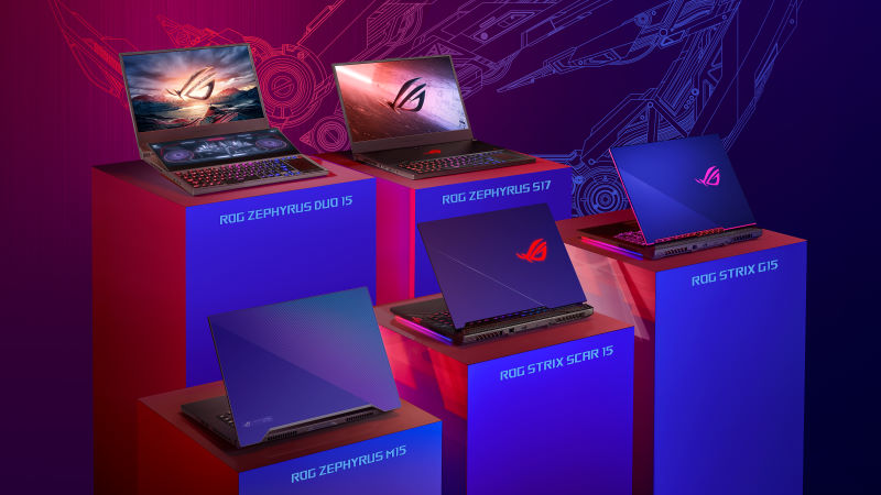 Spring 2020 gaming laptop guide: ROG gets cooler than ever with liquid metal and a second screen
