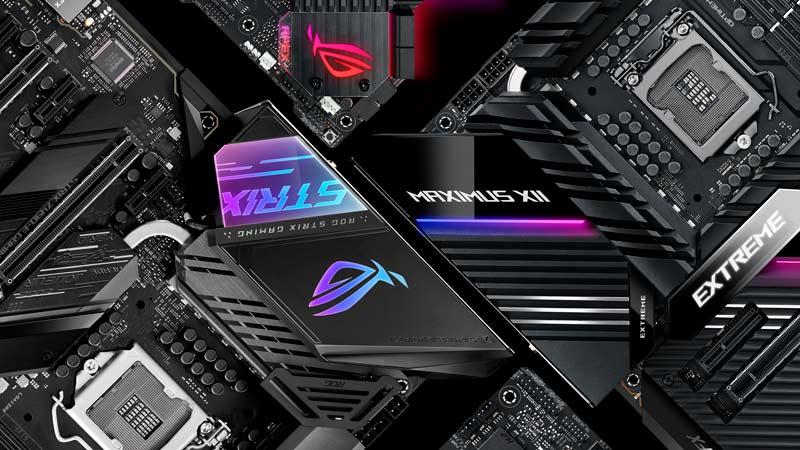 Обзор материнских плат ROG с чипсетом Z490: платы серий ROG MAXIMUS XII и ROG STRIX помогут максимально раскрыть возможности новейших процессоров Intel Core 10-го поколения