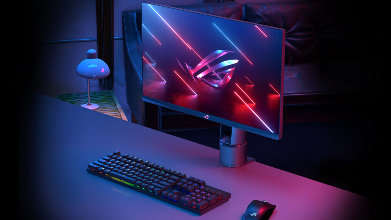 The ROG Swift 360Hz PG259QNR gaming monitor helps elite gamers measure and minimize system latency
