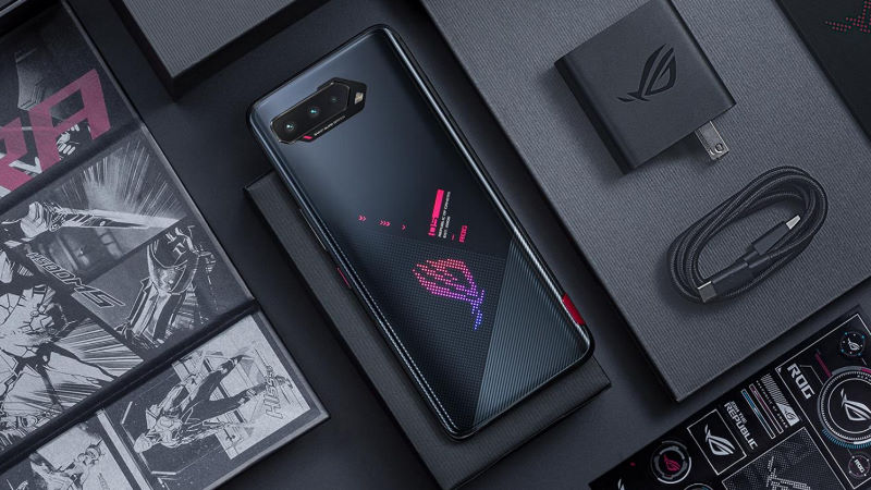 The ROG Phone 5 levels up the mobile gaming experience