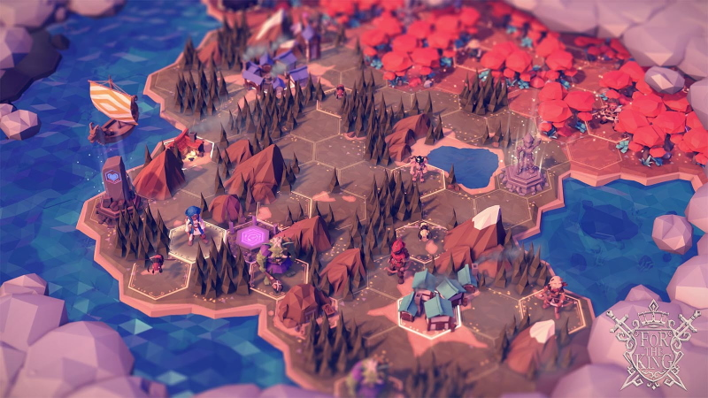 For the King brings tabletop RPG adventure to the PC