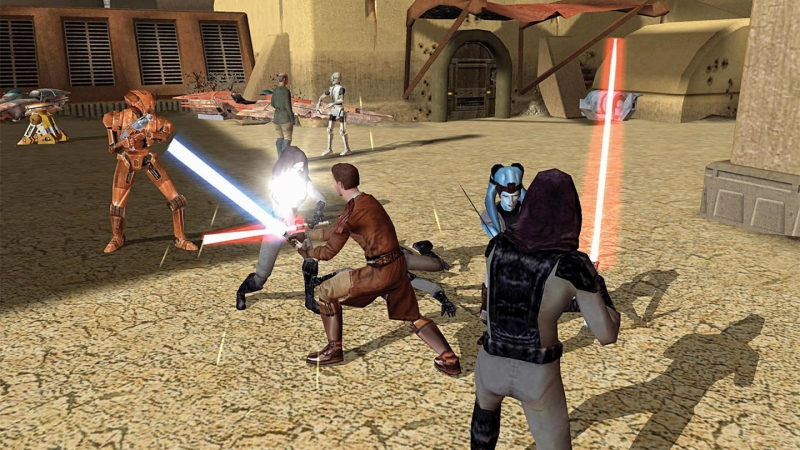 Knights of the Old Republic still offers an epic journey to that galaxy far, far away