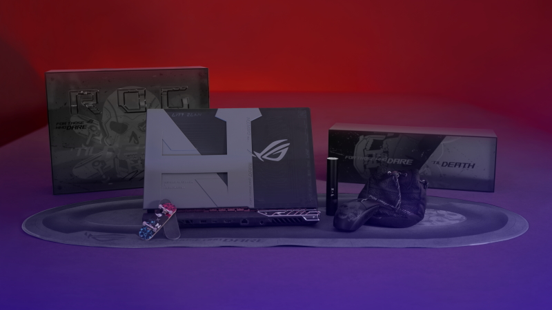 The ROG Strix Nyjah Huston Special Edition is a bespoke laptop for a one-of-a-kind skateboarder