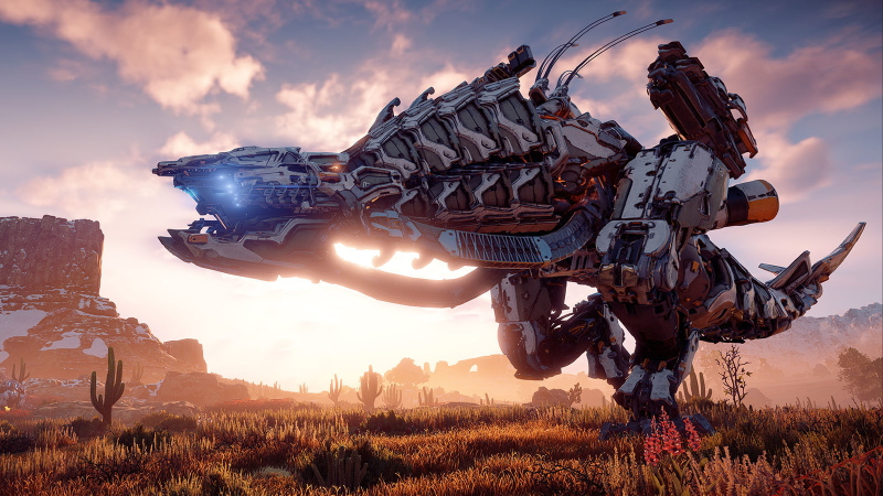 Horizon Zero Dawn's rich storytelling and robot dinosaurs make for an experience like none other