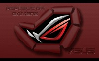 ROG Wallpaper Collection 2012 ::: ROG Burst Through - by Terminator