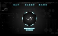 ROG Wallpaper Collection 2012 ::: Eat Sleep Game - by JayCee