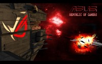 ROG Wallpaper Collection 2012 ::: ASUS ROG Battleships - by GamerDaPro