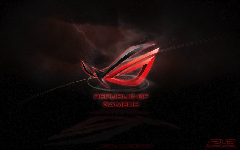 Red Asus Wallpaper: ROG Wallpaper Collection 2012