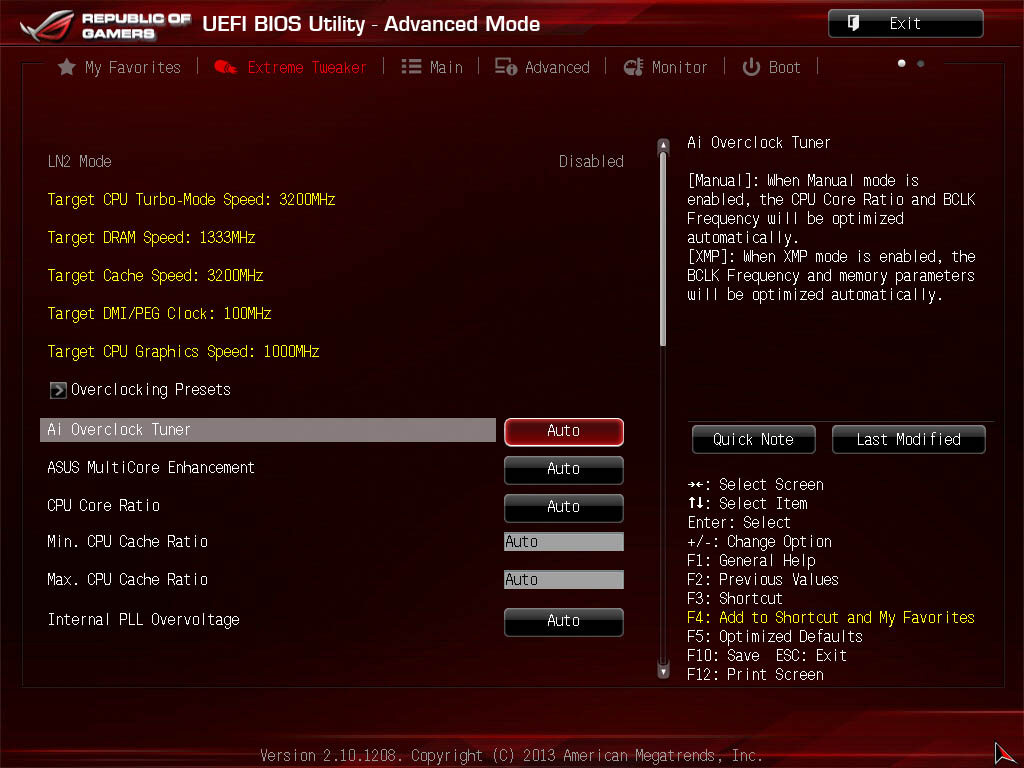 The ROG UEFI BIOS - Republic of Gamers Motherboards