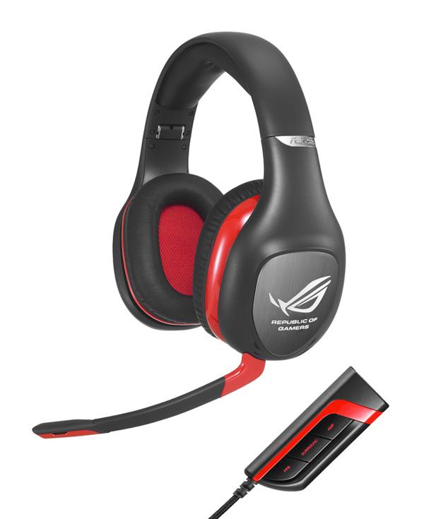 ASUS ROG Vulcan PRO Gaming Headset with ROG Spitfire USB Audio Processor
