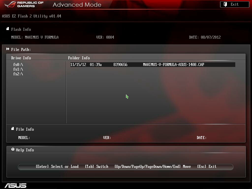 how to open bios from a restart