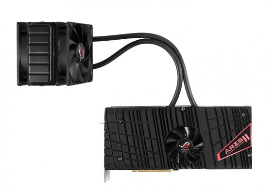 ASUS ROG ARES II cooler
