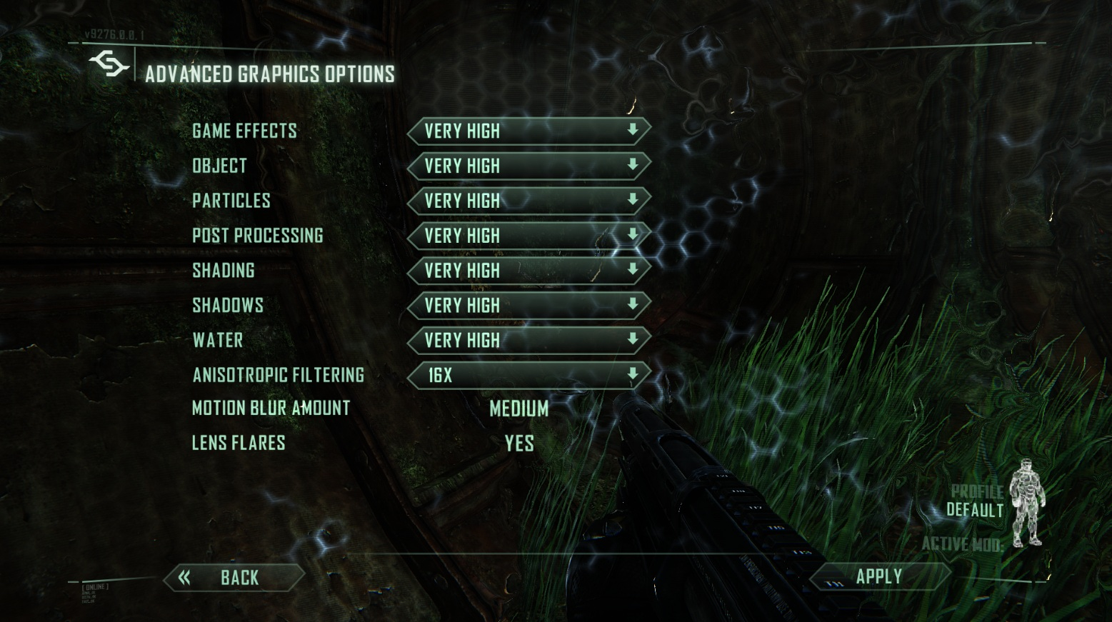 What Video Card Is Crysis Designed For