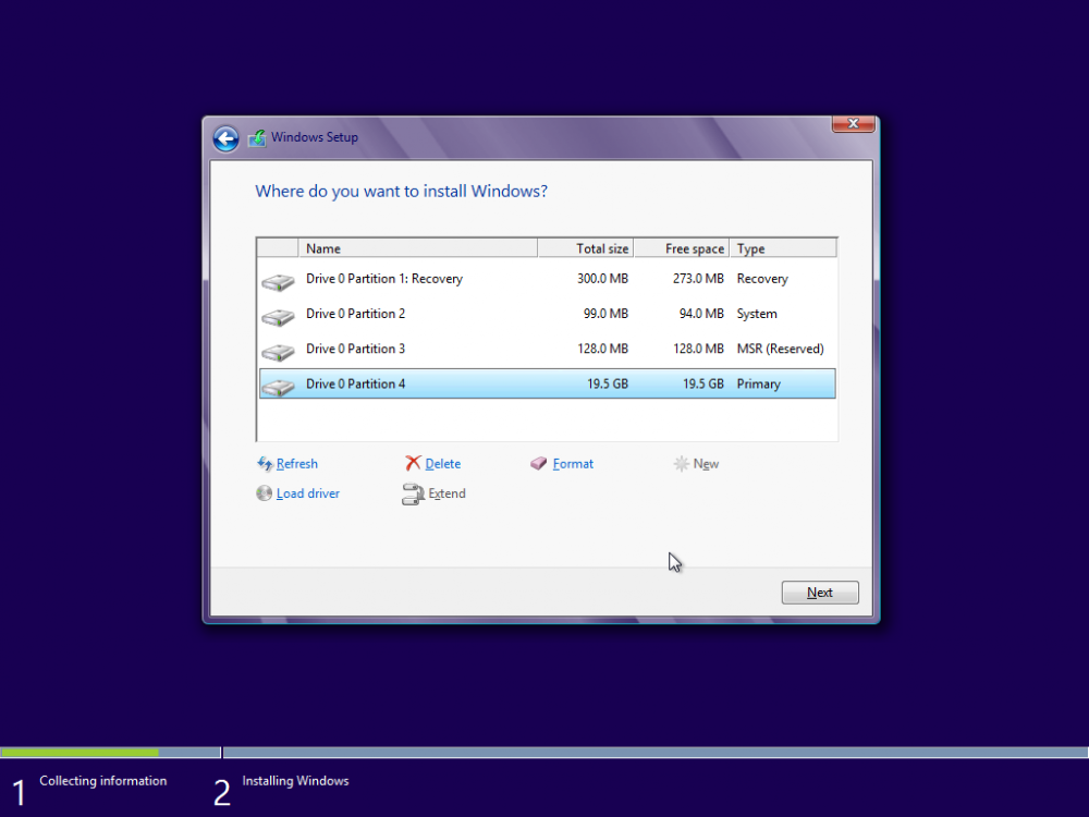 Win8 Structure