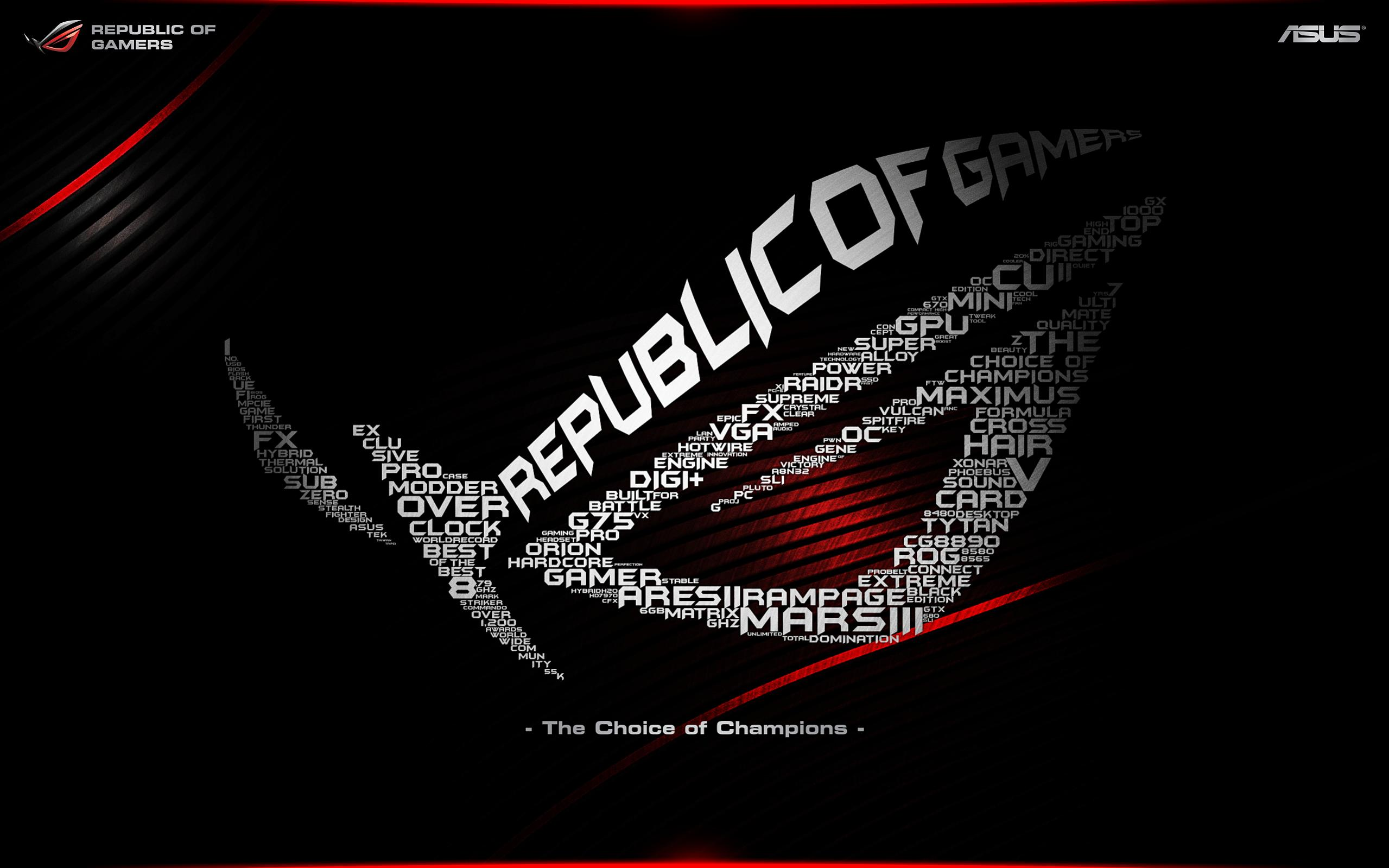 Rog Wallpaper Collection 2013