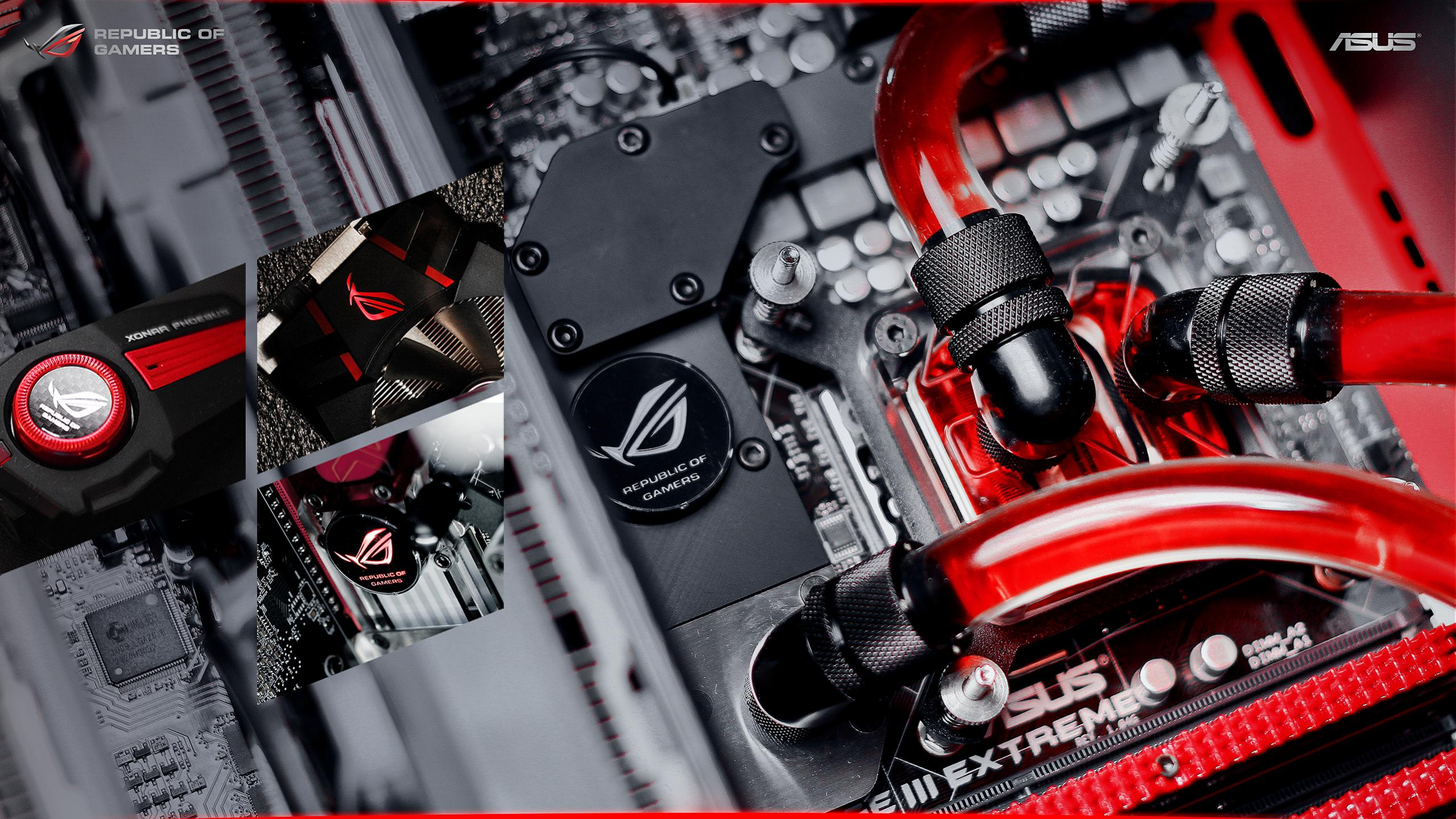 Asus Wallpaper 2560x1440: ROG Wallpaper Collection 2013