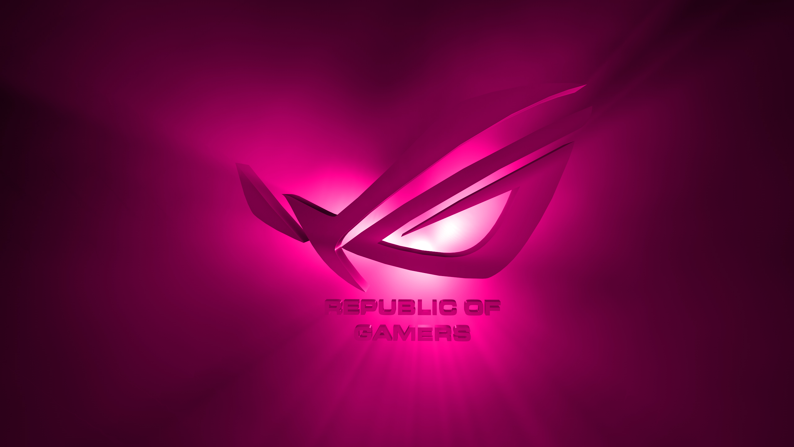 ROG Wallpaper Collection 2013 ::: ROG pink - by