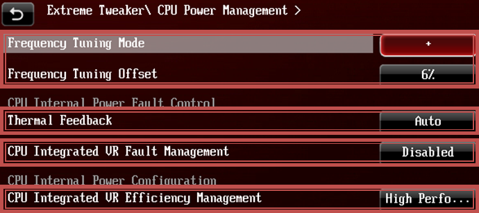 Maximus VI Recommended Settings For Overclocking | ROG
