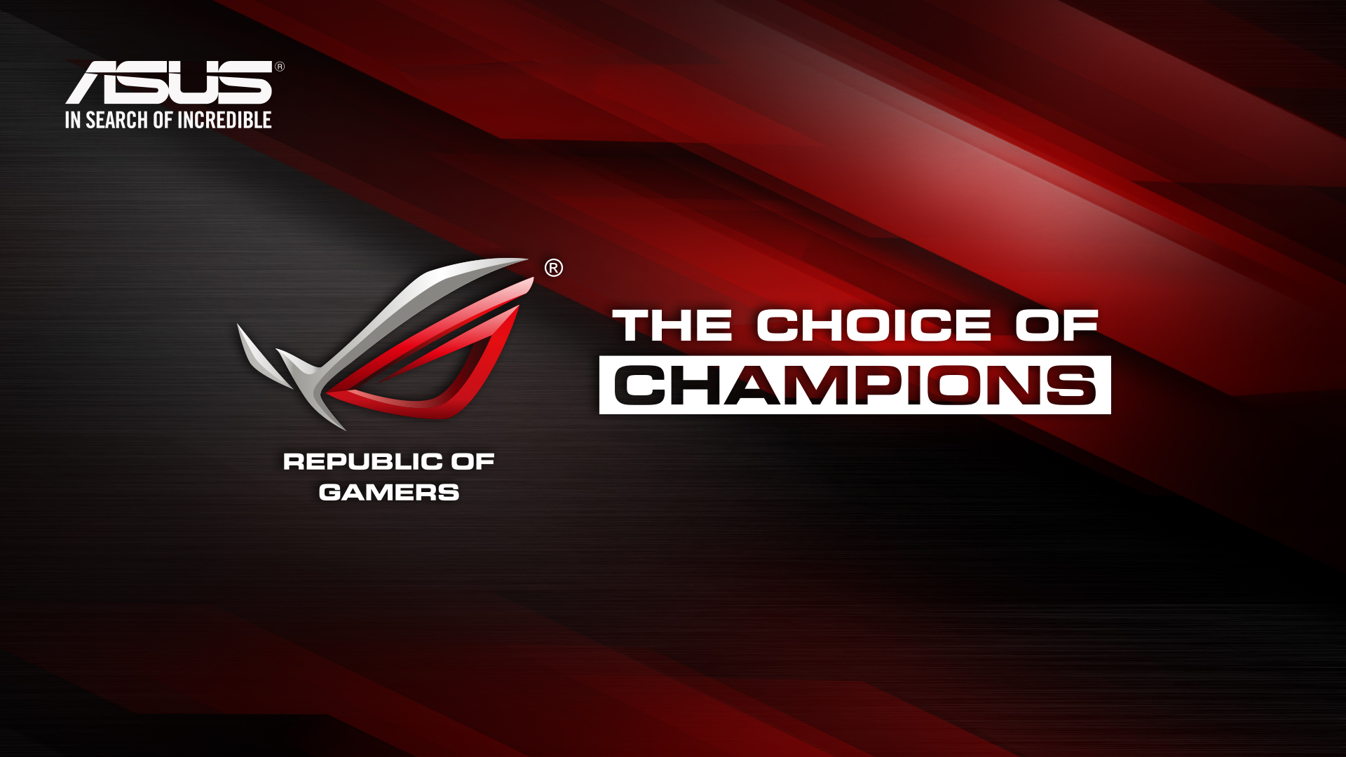 Asus Rog Wallpaper: ROG Official Wallpaper 2013 - Republic Of Gamers