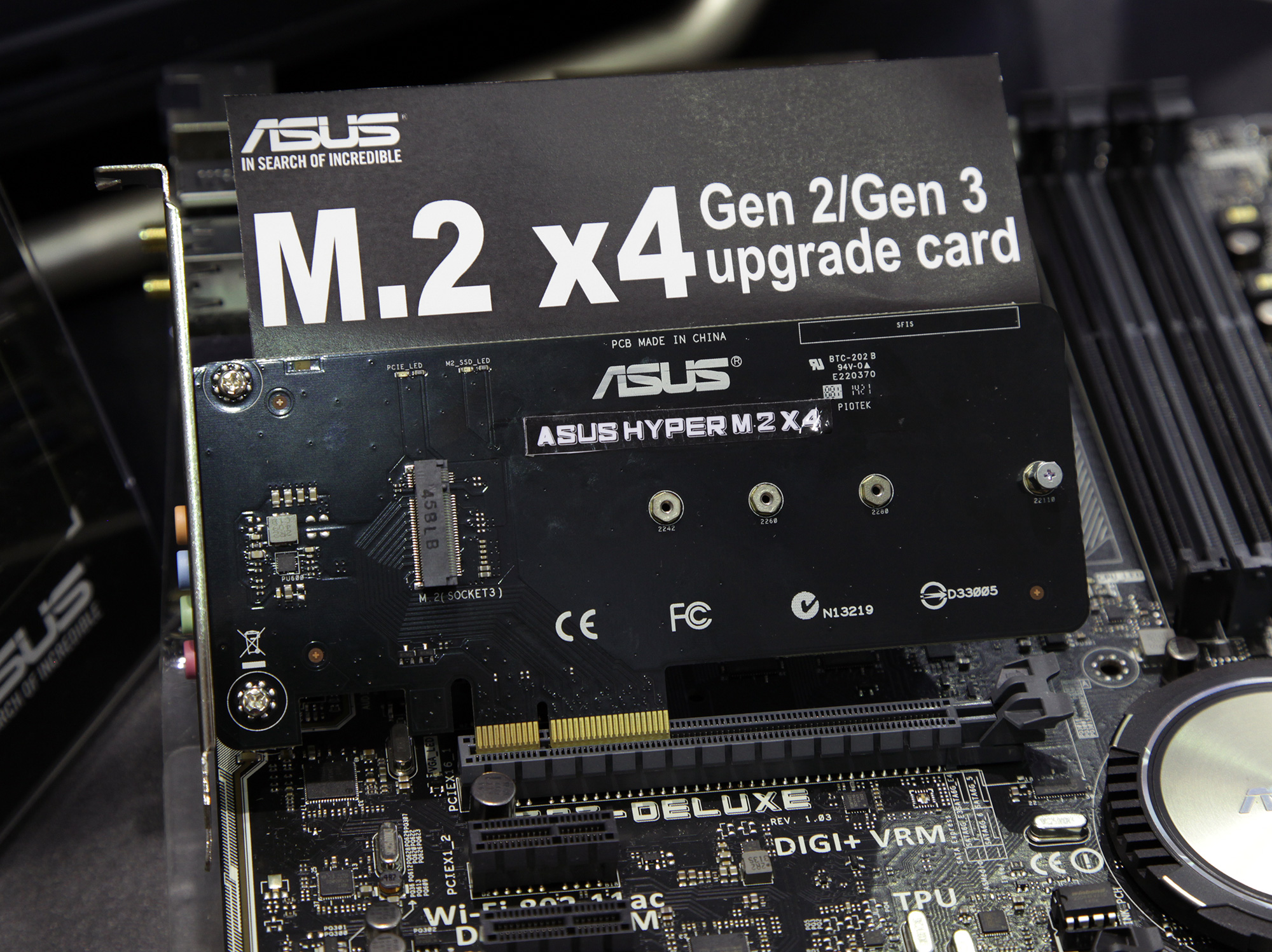 Asus X99 Deluxe Ii M 2 Help Cpus Motherboards And