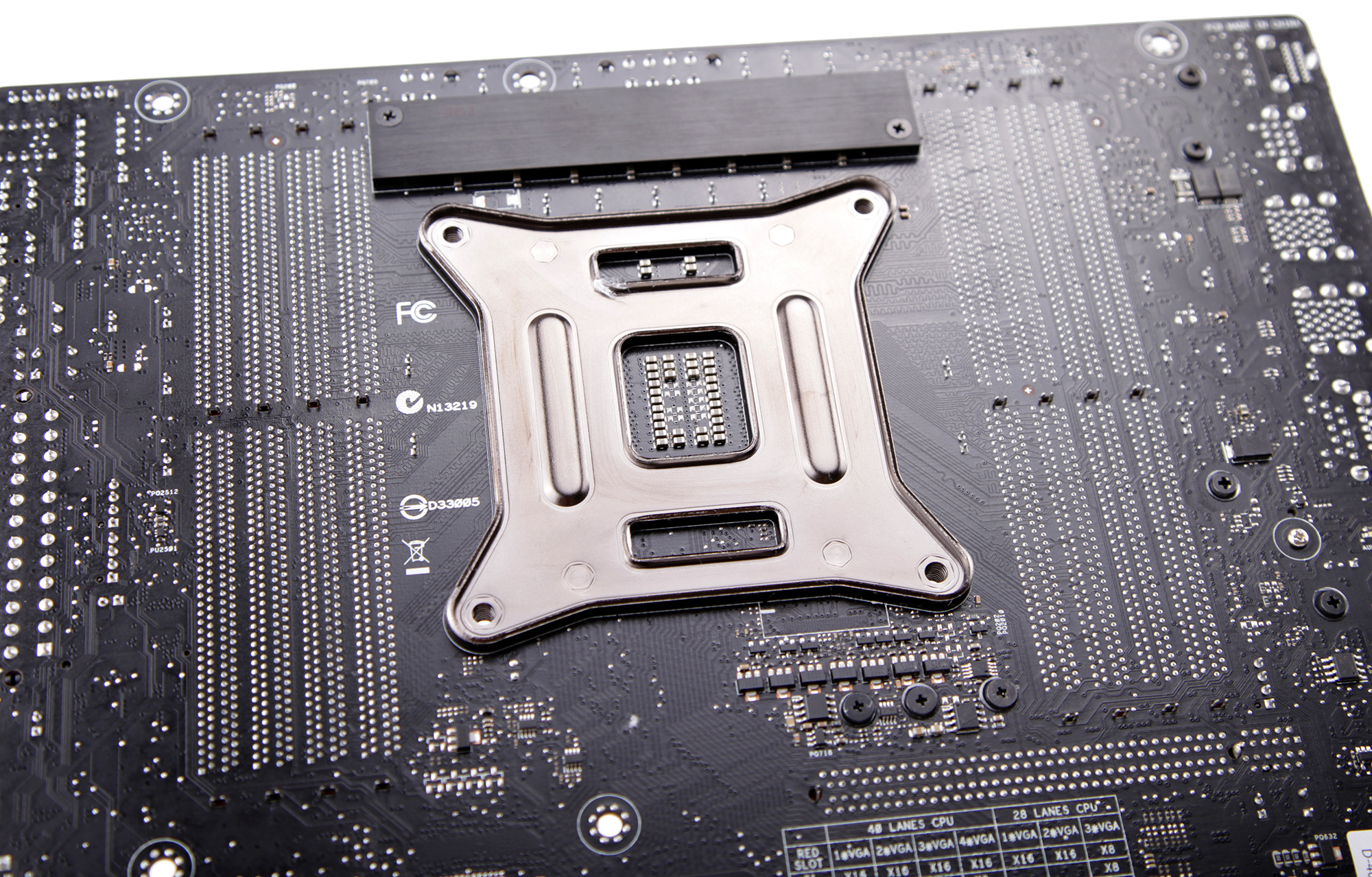 R5E_10 Motherboard backplates
