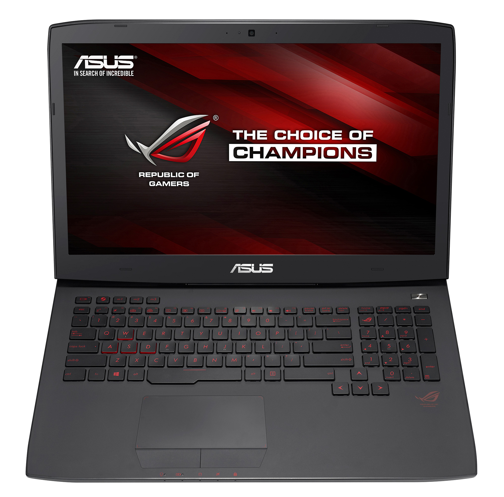 asus rog announces g751 gaming laptop with gtx 900m series. Black Bedroom Furniture Sets. Home Design Ideas