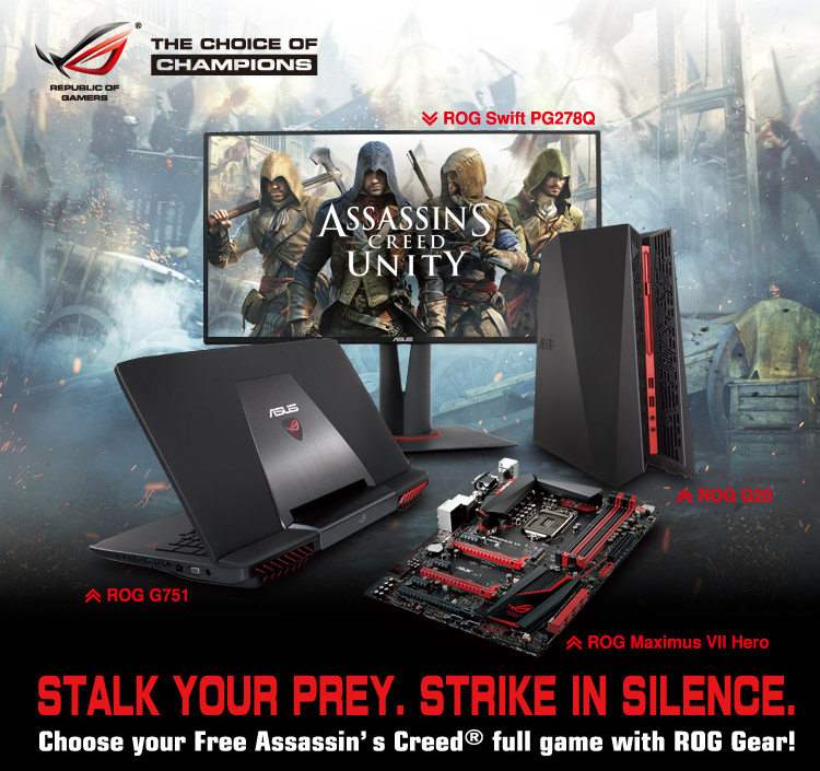 Assassin's Creed Unity Free   ROG - Republic of Gamers Global