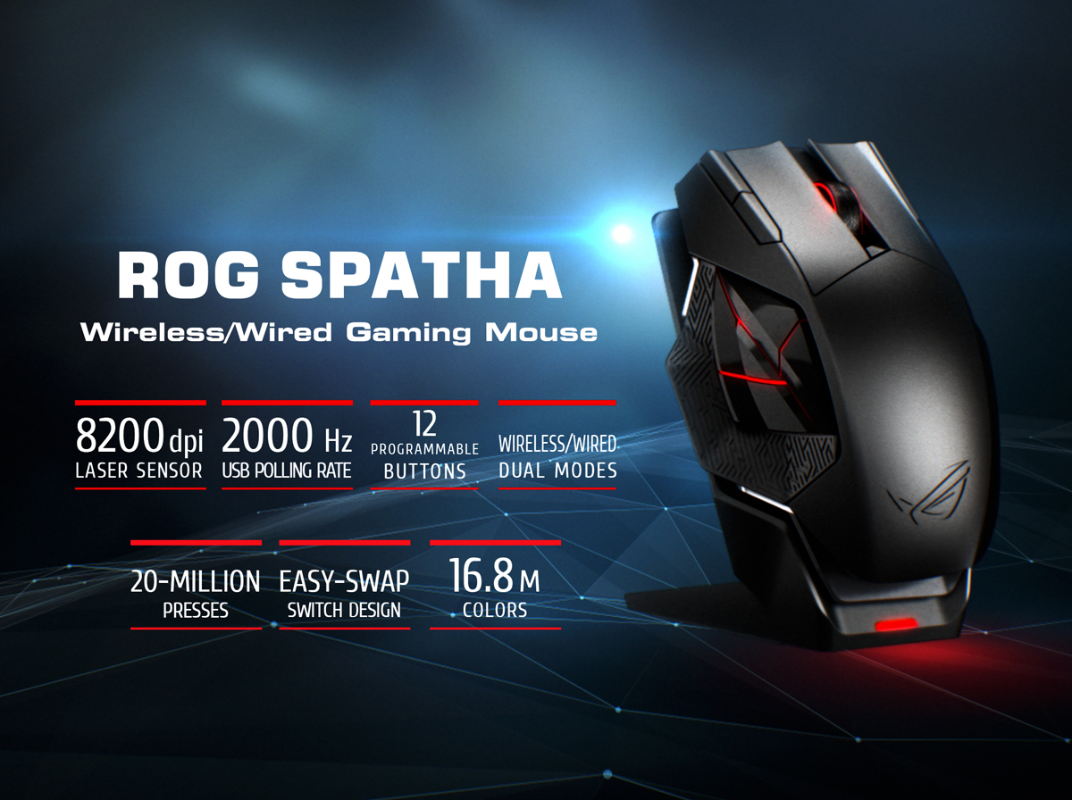 wireless gaming mouse | ROG - Republic of Gamers Global