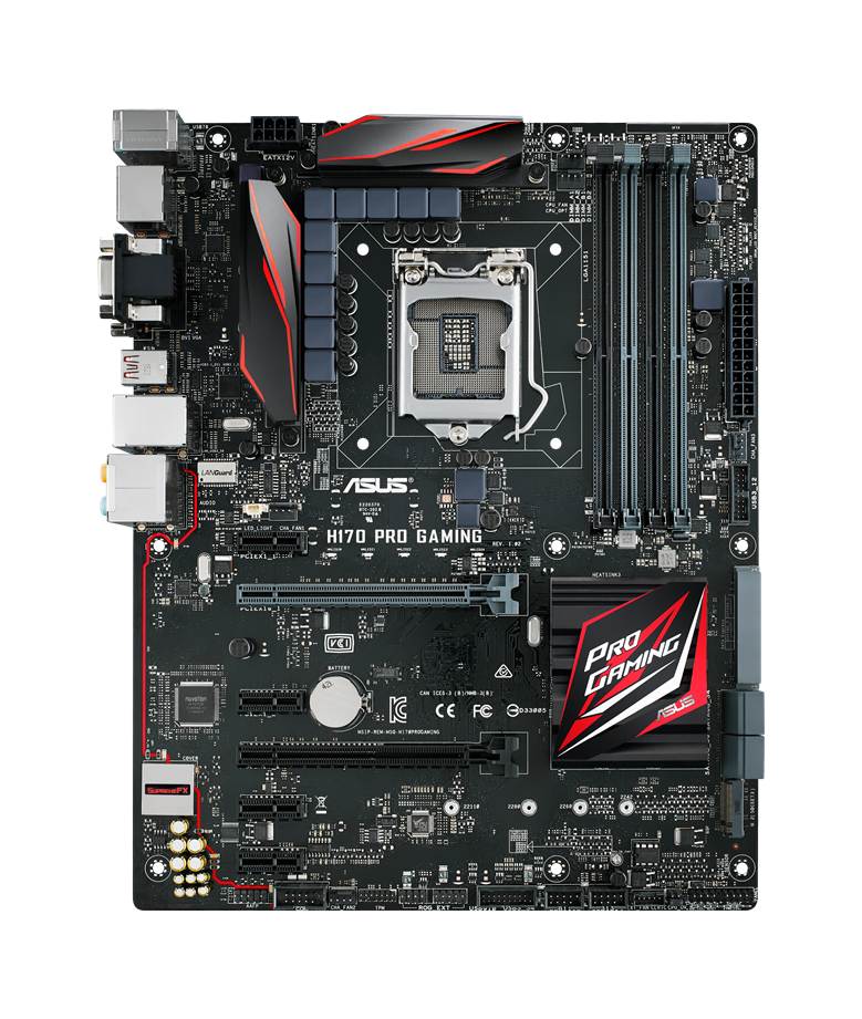 ASUS Announces H170 Pro Gaming and B150 Pro Gaming D3