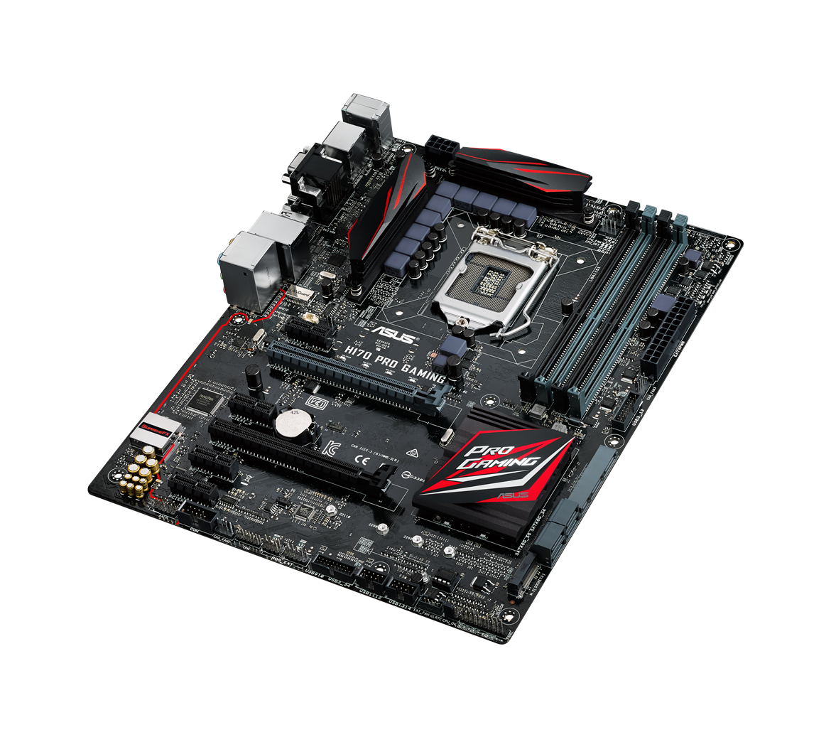 Gaming Info Sites: ASUS Announces H170 Pro Gaming And B150 Pro Gaming D3