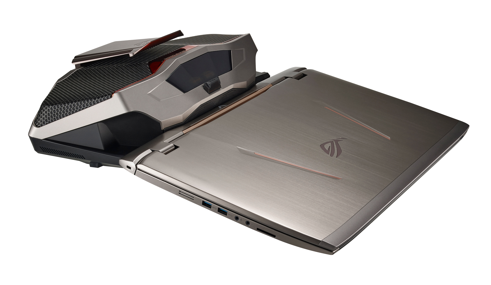Gallery Asus Rog Gx700 Gaming Laptop With Liquid Cooling