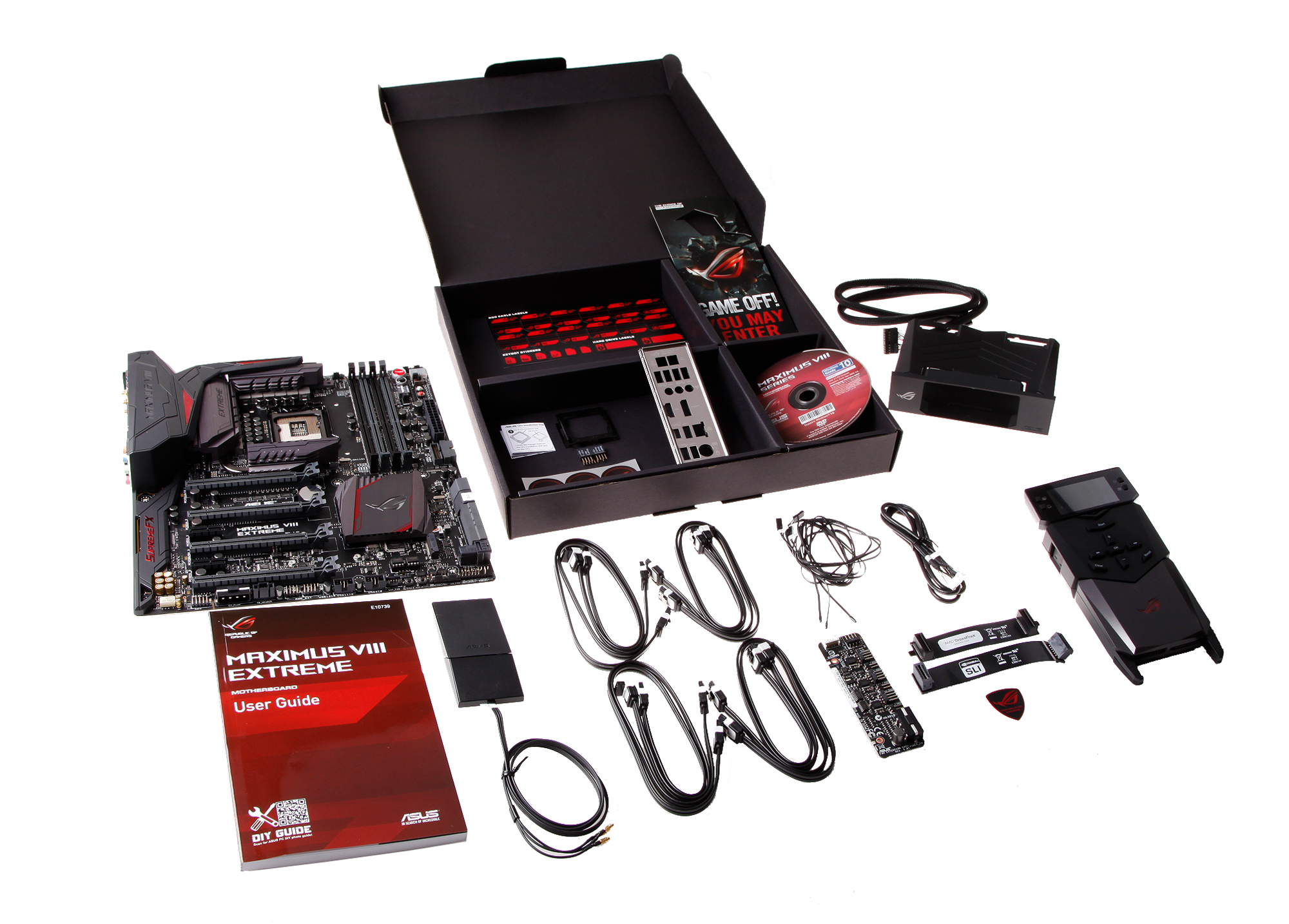 Unboxing Rog Maximus Viii Extreme Rog Republic Of