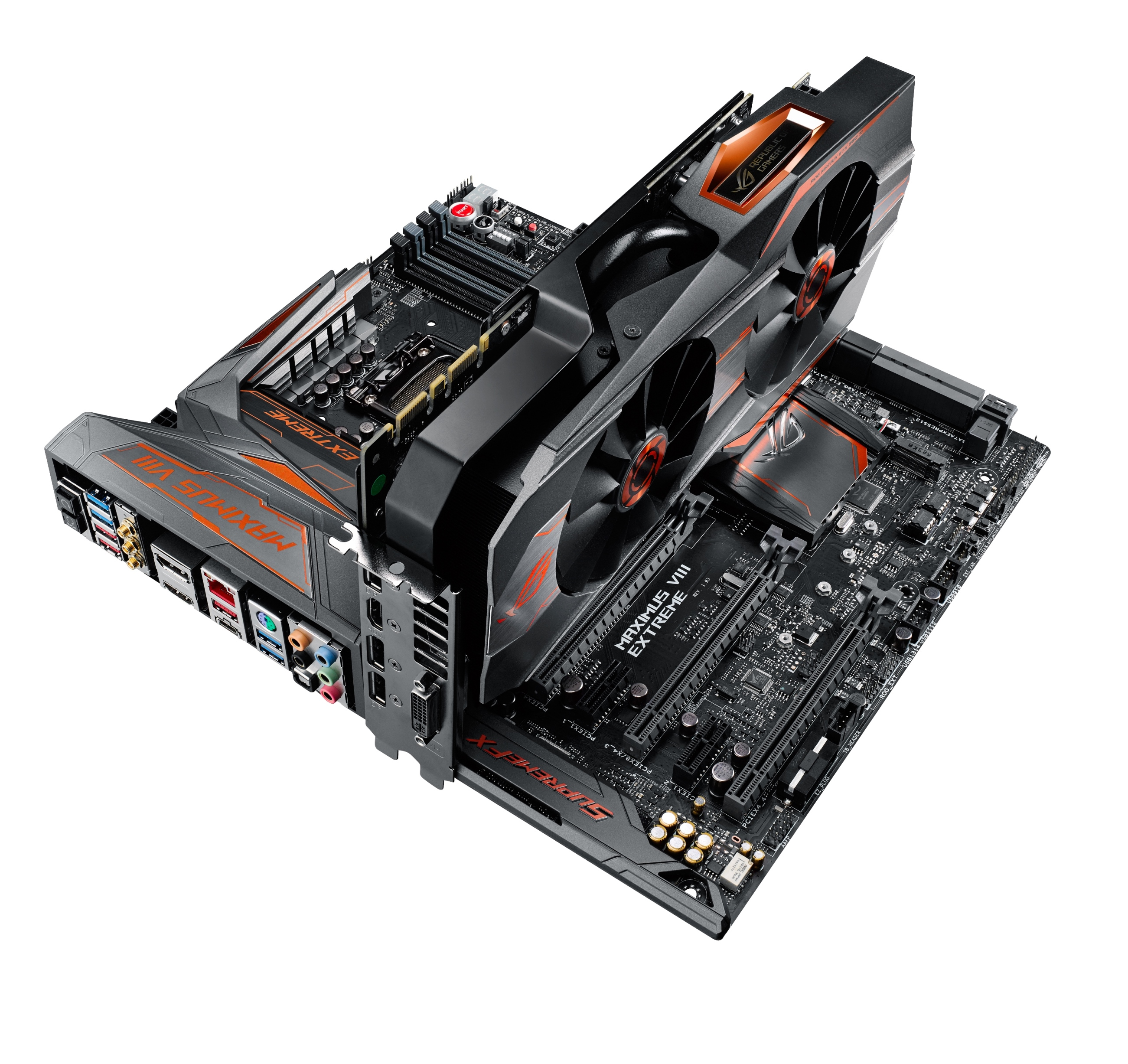 Republic Auto Of Texas >> ASUS Republic of Gamers Announces Maximus VIII Extreme/Assembly and Matrix GTX 980 Ti | ROG ...