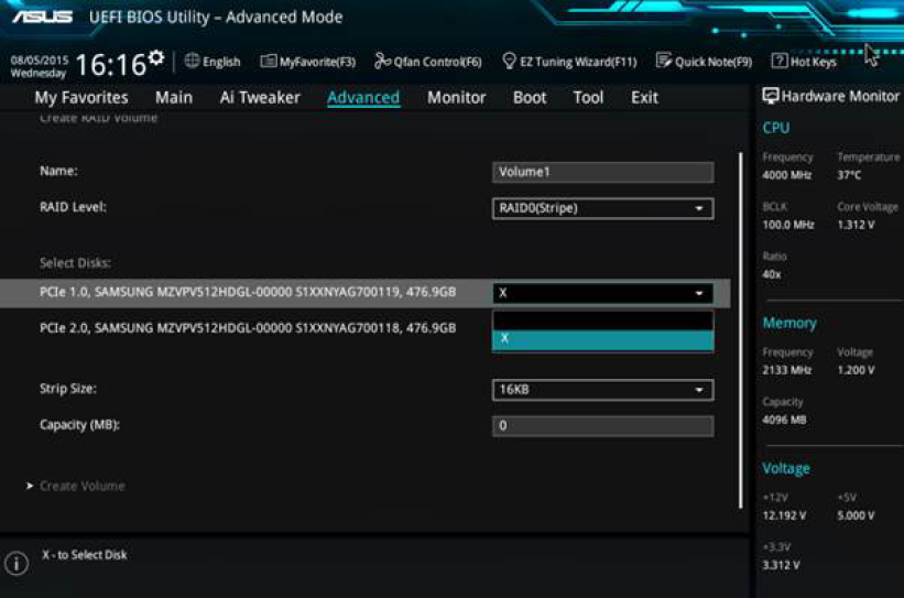 Guide: Install M 2 PCIe SSDs in RAID 0 for Speed | ROG