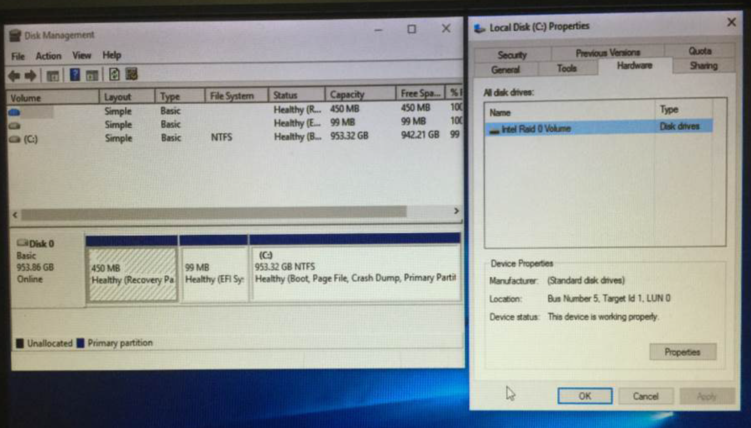 Recover files from raid drive
