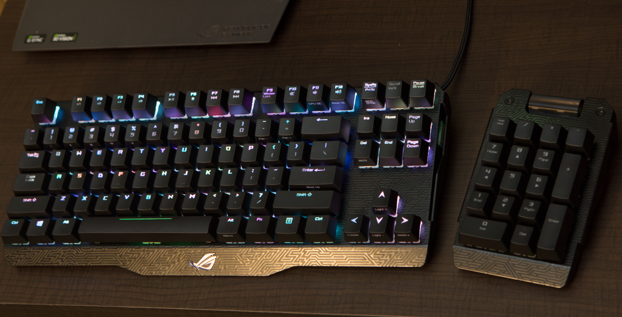 Ces 2016 Rog S Killer Peripherals Claymore Spatha And
