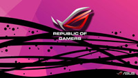 ROG Wallpaper Collection 2012 ::: ROG Pink - by Underworld