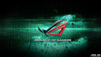 ROG Wallpaper Collection 2012 ::: Code Downpour - by GoTeamScotch